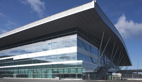 Terminal de pasajeros del aeropuerto de Santiago