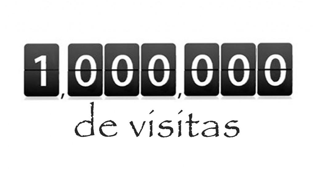 millón de visitas