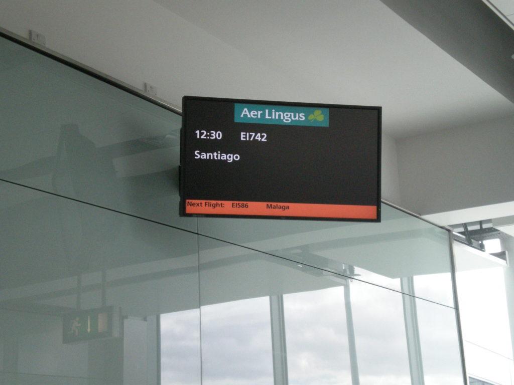 embarque aeropuerto Dublín
