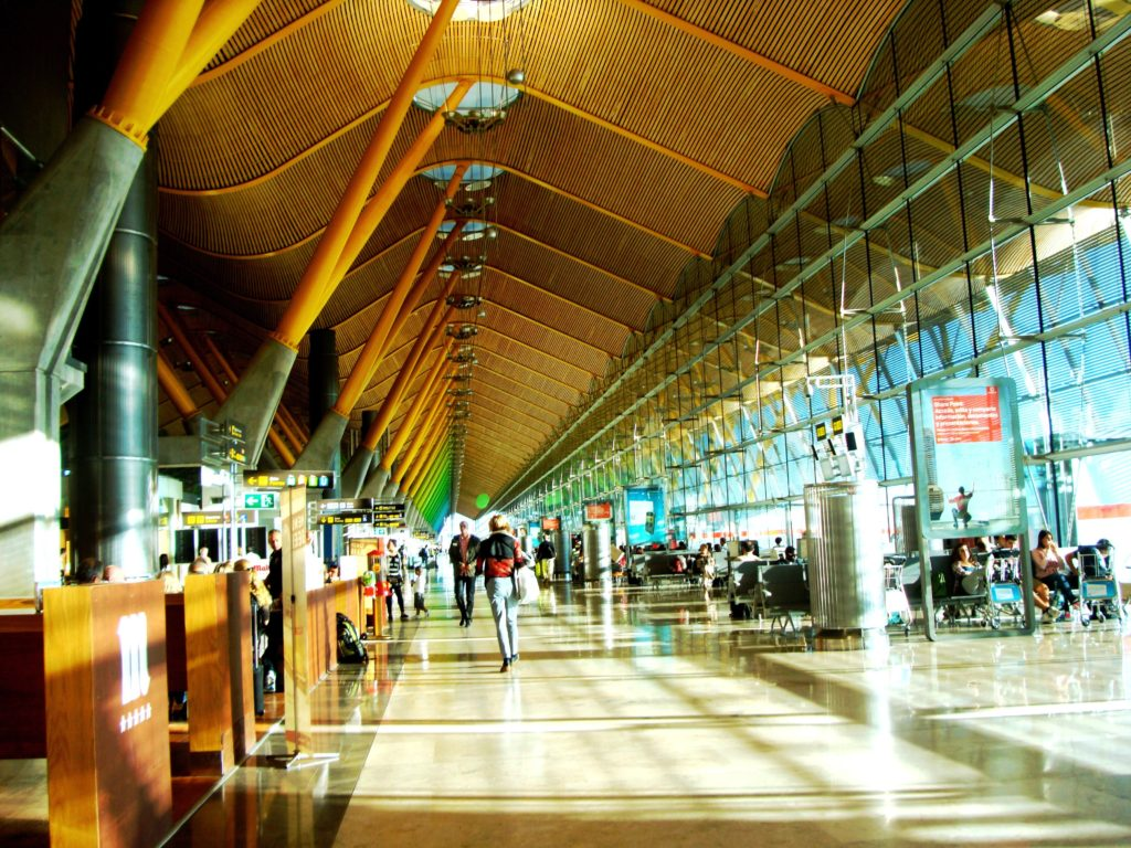 T4 aeropuerto Madrid